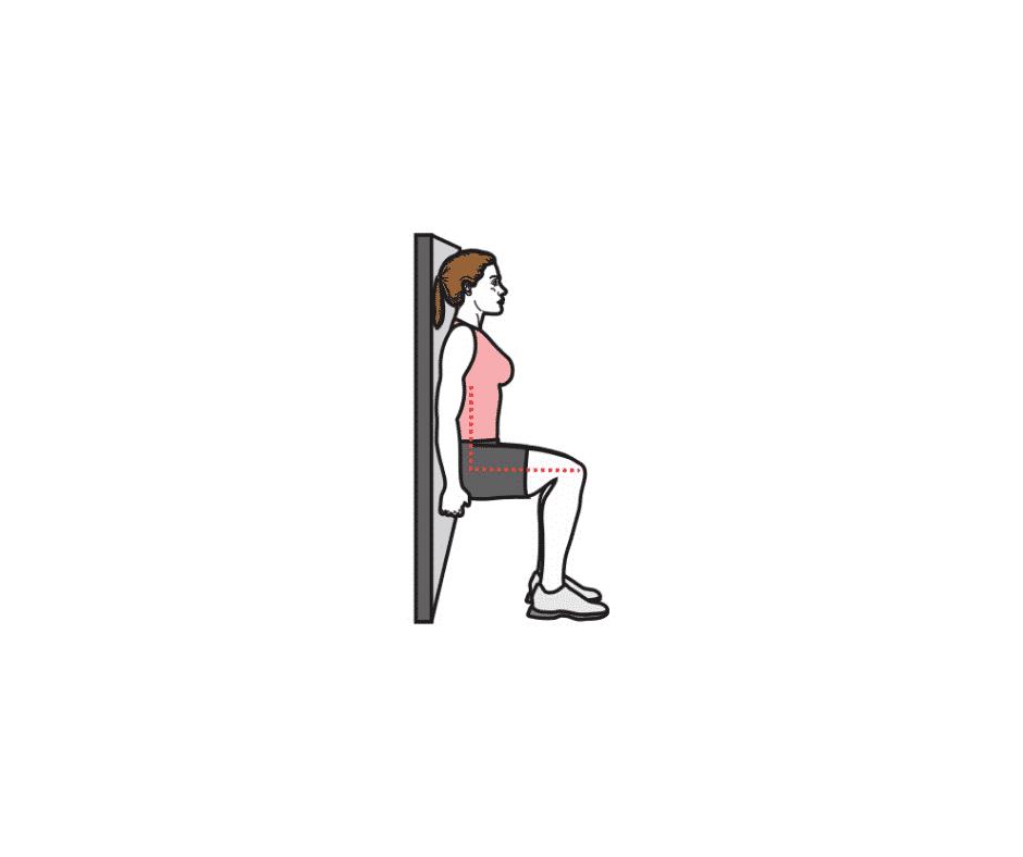 Exercice De La Chaise Ou Le Test De La Chaise Tests Physiques Hexfit