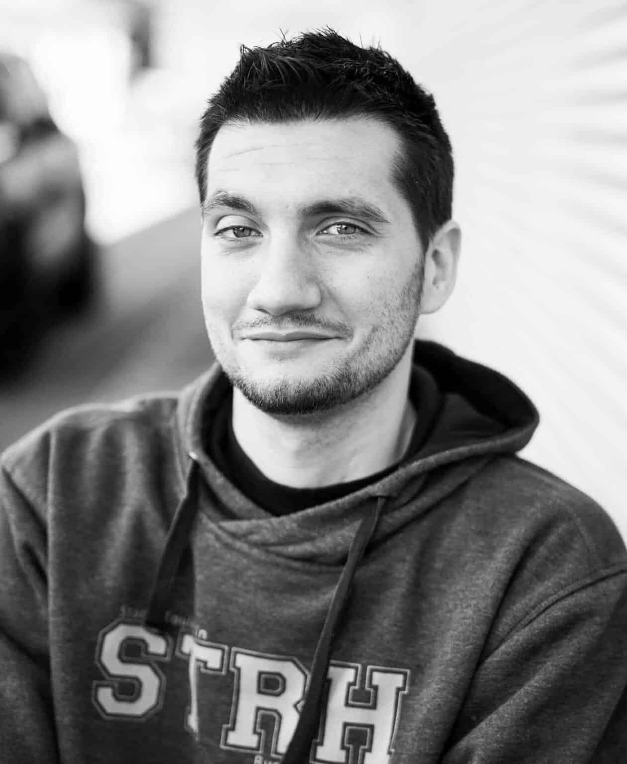 Portrait de Mathieu Thiriet, athlète paralympique en rugby